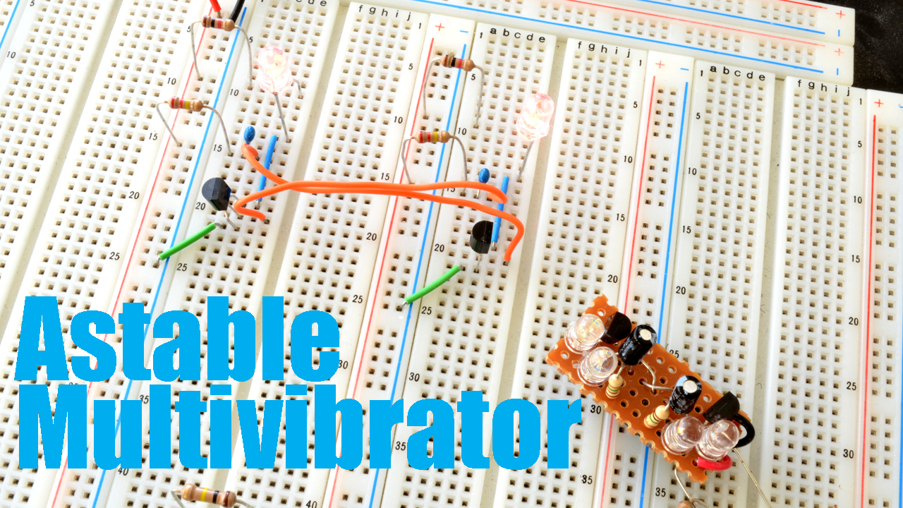The Astable Multivibrator