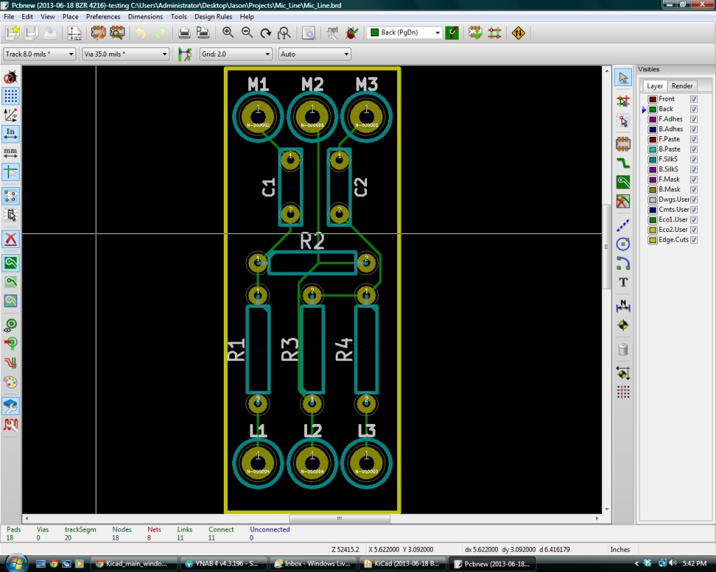 Make a Printed Circuit Board in KiCad