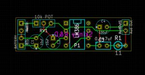 Kicad PCB