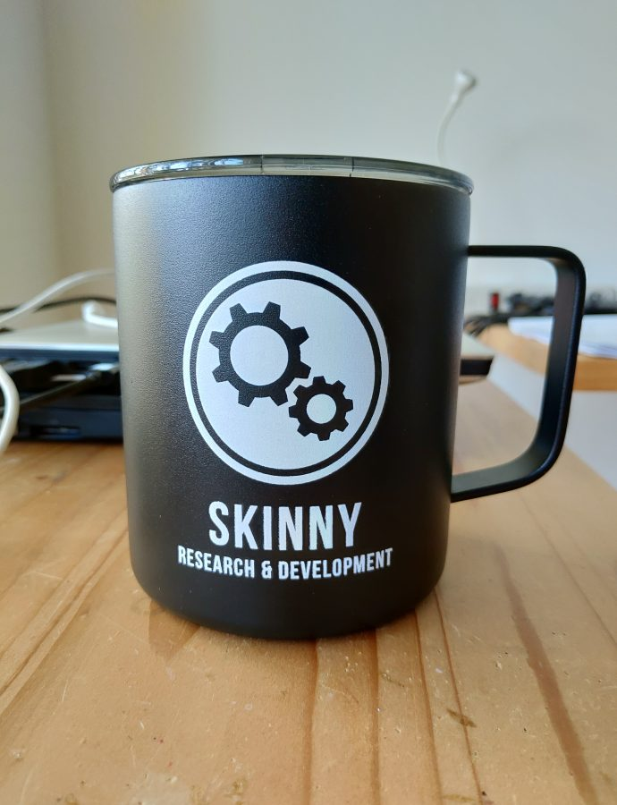 Skinny R&D Insulated Mug